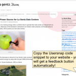 installing usersnap google analytics