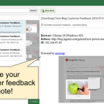 evernote app for user feedback