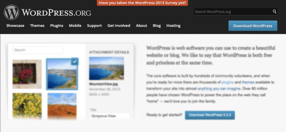 WordPress notification bar