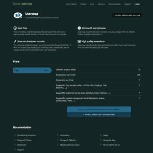 Usersnap add-on for Heroku