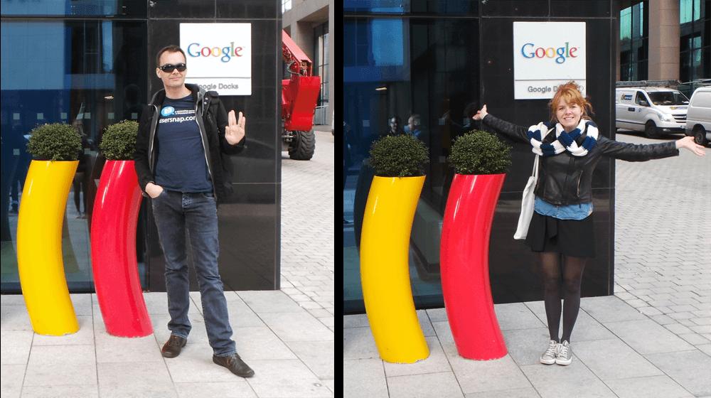 Usersnap at Google