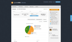 The in-proposal analytics give you a good overview for every proposal!