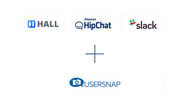 chat messenger integration from bug tracking usersnap