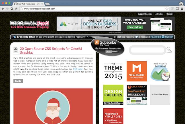 webresources depot web development blog for developers