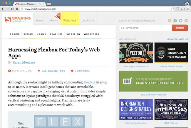 smashing magazine web development blog for developers