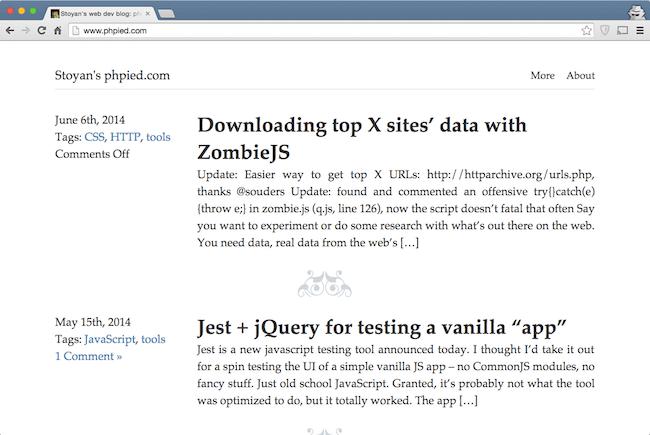stoyans blog web development blog for developers