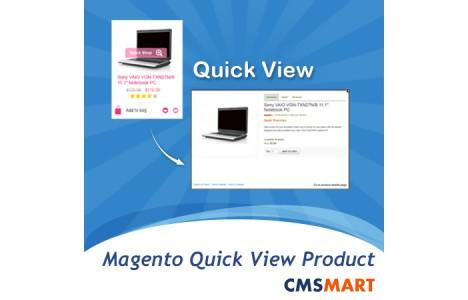 quick view shop magento extension