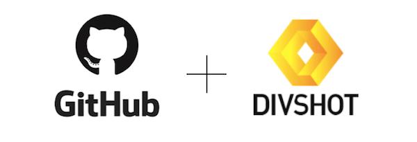 github and divshot for static hosting