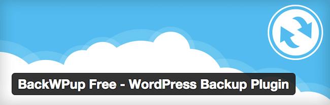 backwp wordpress plugin for wordpress developers