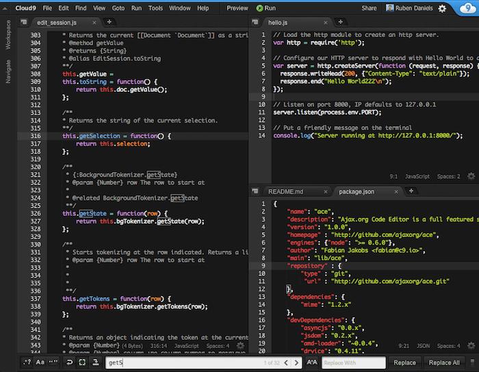 c9 for remote web development teams