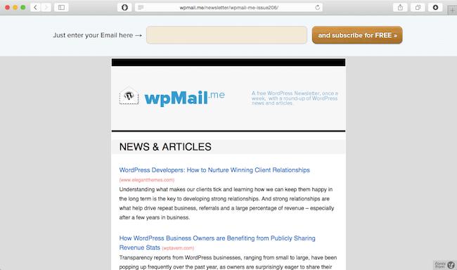 wpmail me newsletter best wordpress newsletter