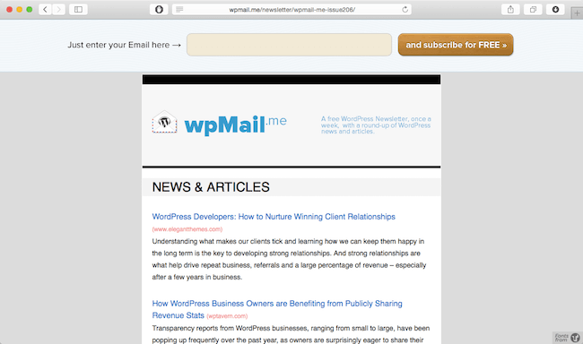 wpmail me newsletter best wordpress newsletter