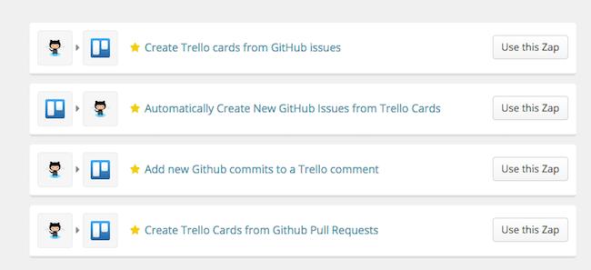 github trello integration for developers