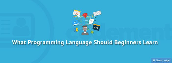programming language to learn full stack developer