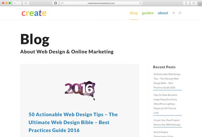 create top notch websites web design blog
