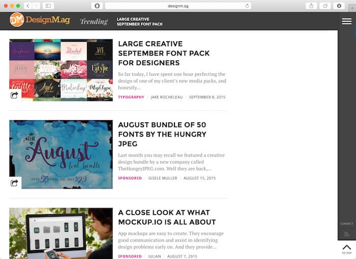 design mag awesome web design blogs