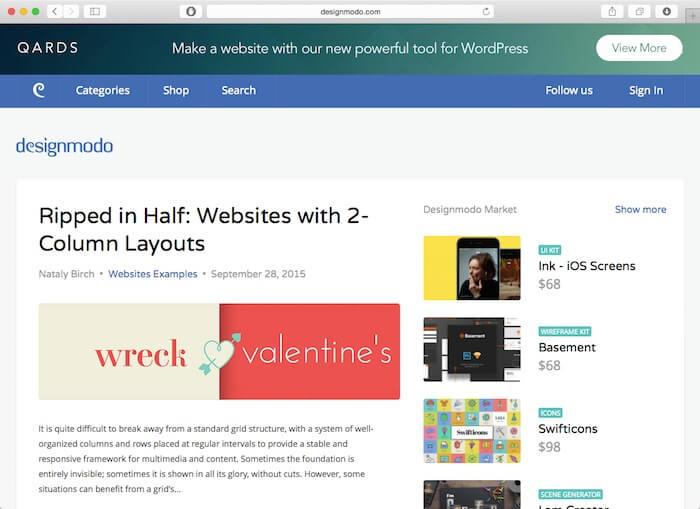 design modo web design blog