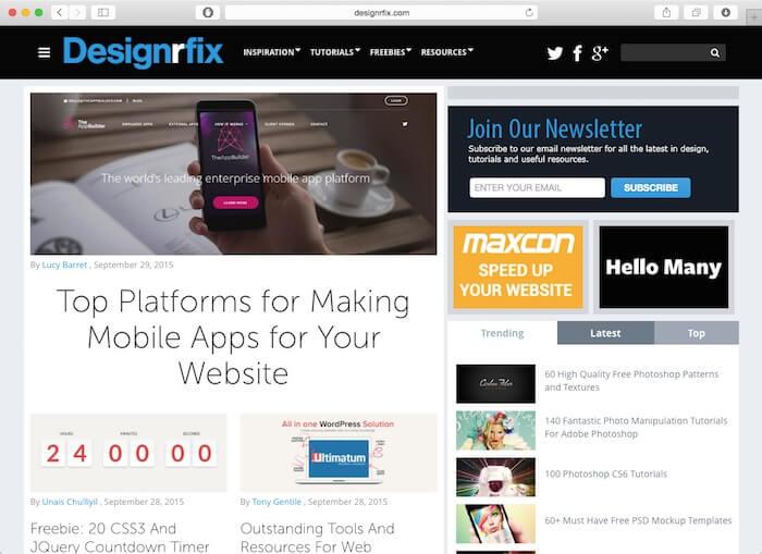 designrfix网页设计博客