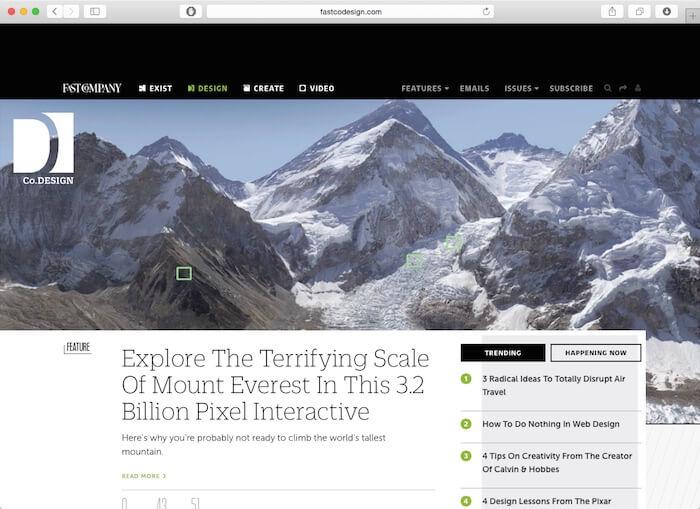 快速设计最好的网页设计博客