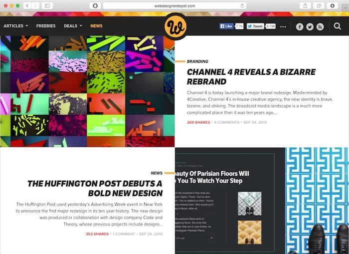 webdesignerdepot web design blogs