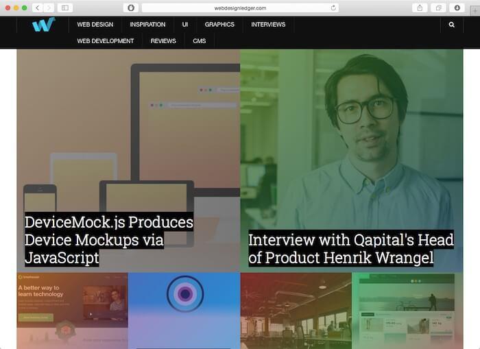 webdesignledger网页设计博客