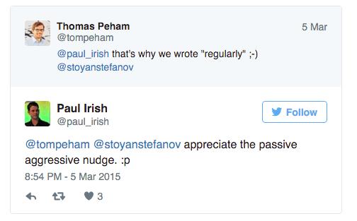 paul irish twitter conversation