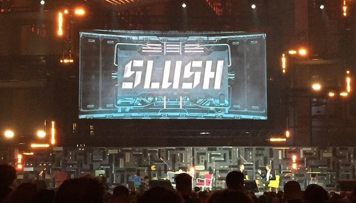 What a Slush! Usersnap at Slush15 in Helsinki.