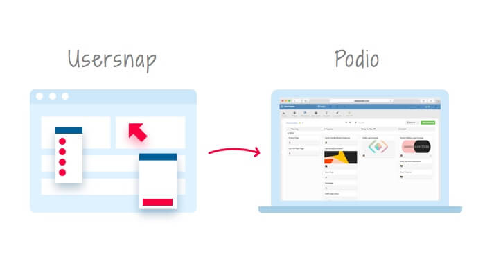 bug tracking & user feedback inside podio