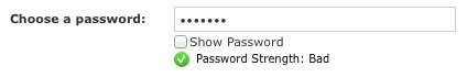 change password example of bad forms