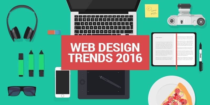 web design and ux trends for 2016