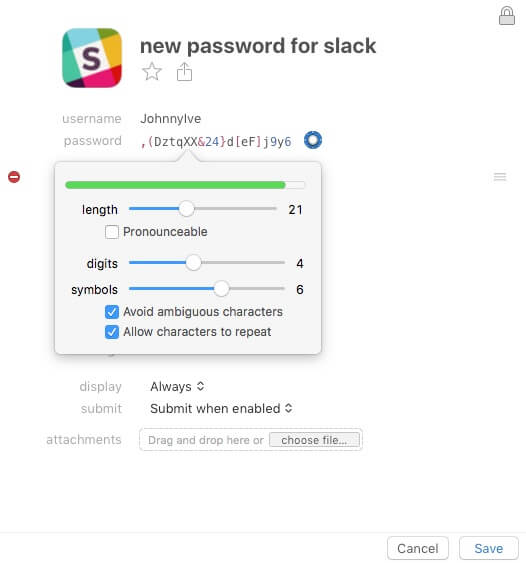 How we manage passwords with 1Password