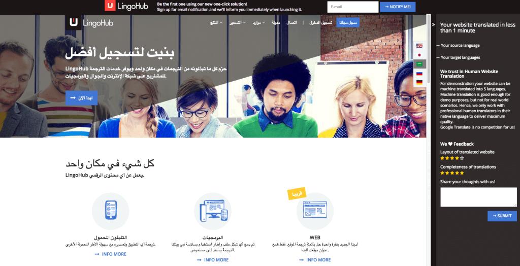 LingoHub Web Preview