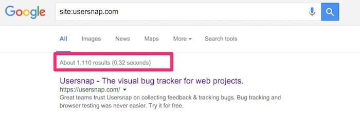 usersnap on google
