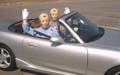 bug tracking mistakes testing dummies car