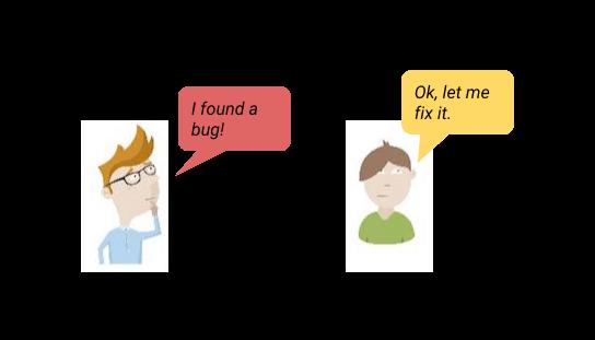 visual bug reporting communications
