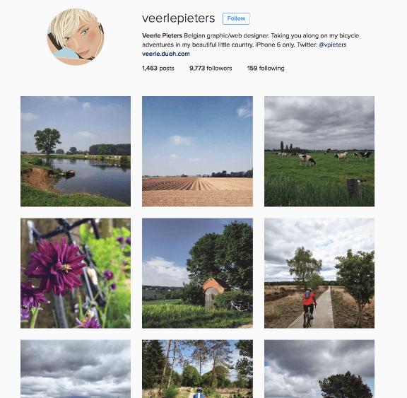 Veerle Pieters instagram