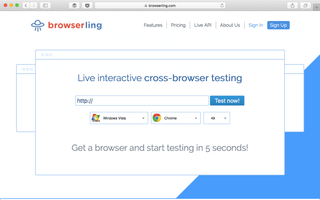browserling browser testing