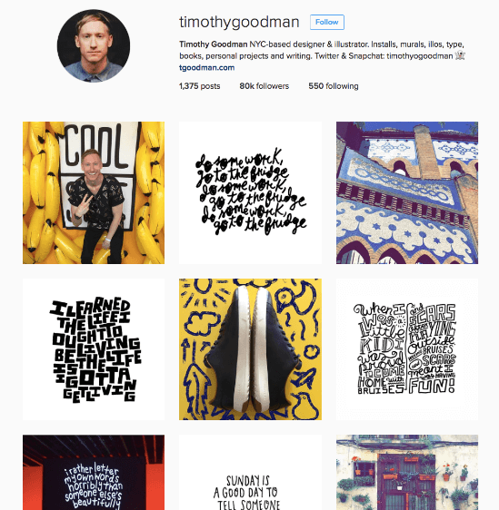 timothy goodman instagram