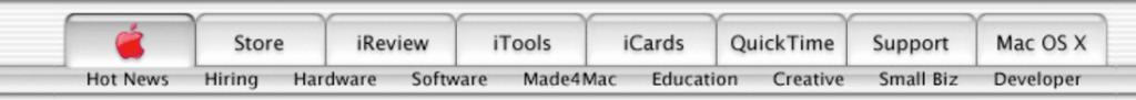 apple buttons website