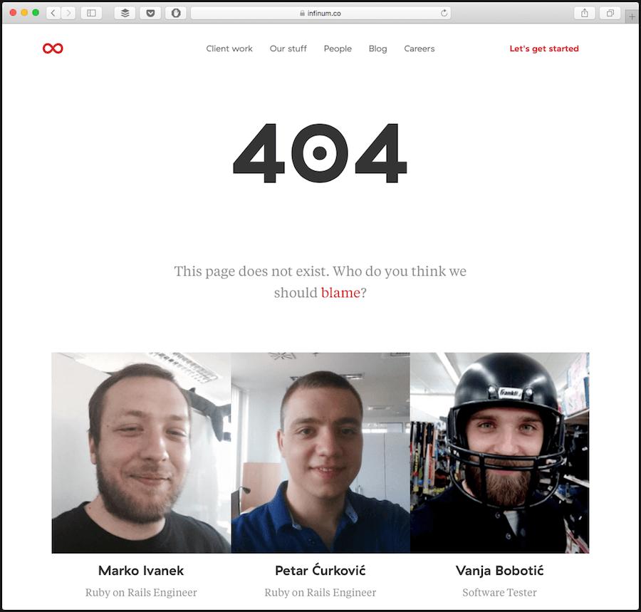 infinum 404