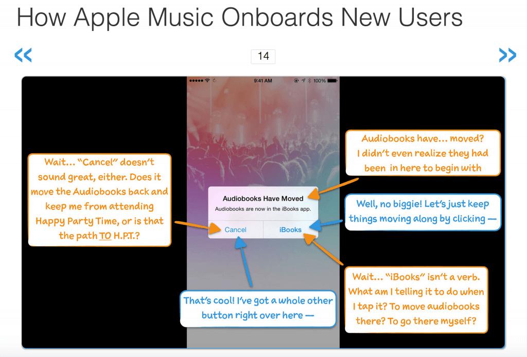 user onboarding apple