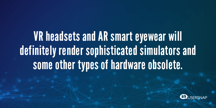 vr ar disruptive products