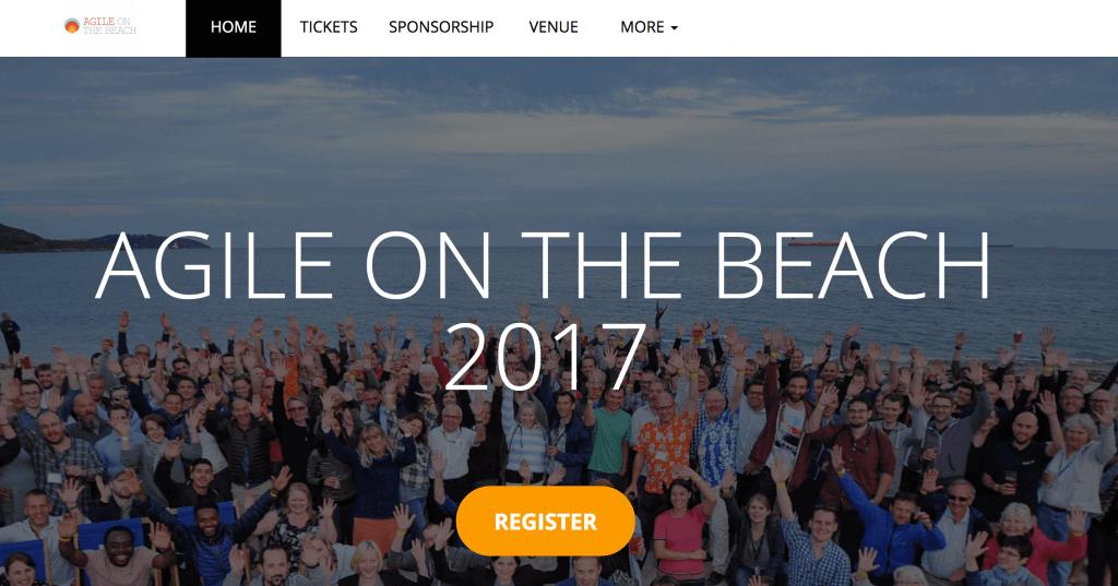 agile on the beach 2017