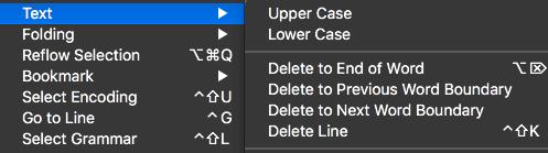 text manipulation atom editor