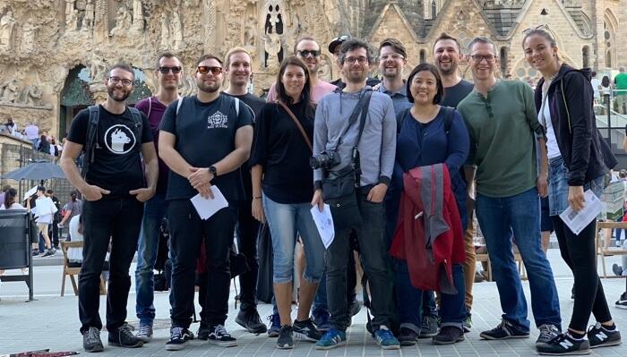 Usersnap Team Retreat Barcelona