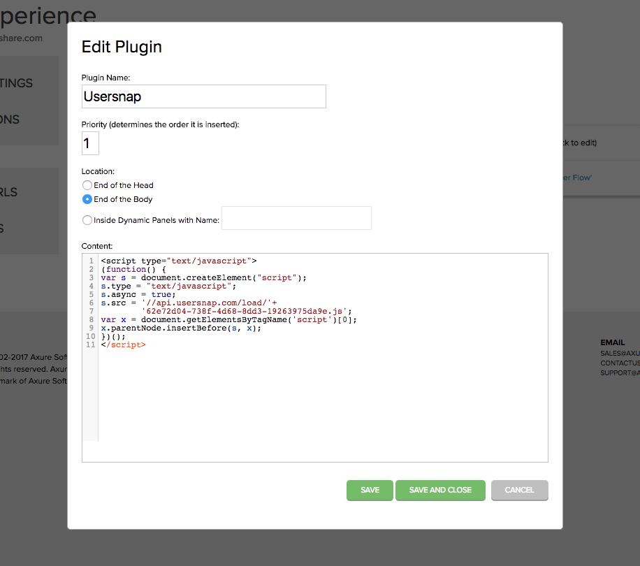usersnap axure