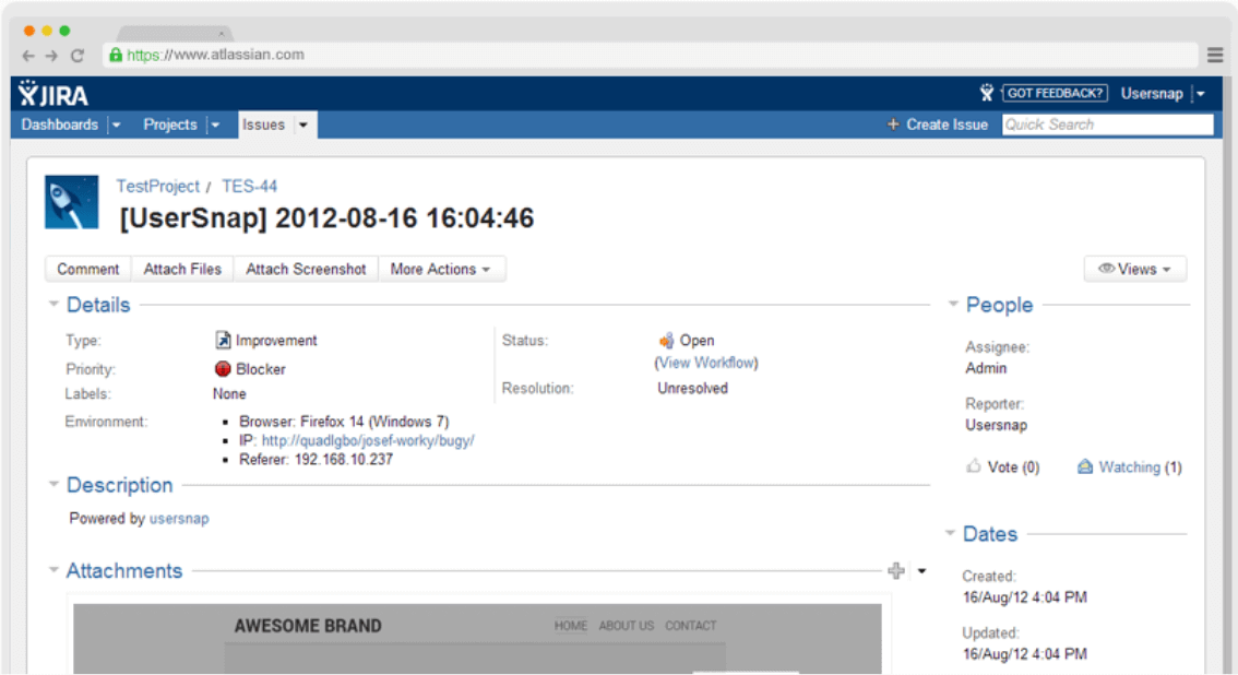 Integrate with Jira