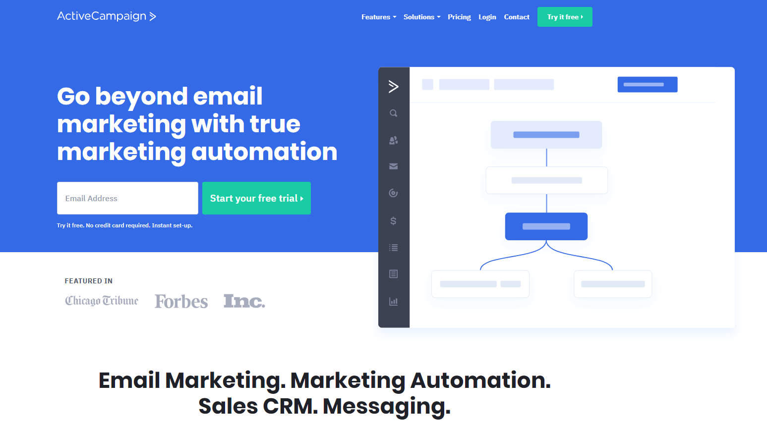 ActiveCampaign - marketing automation