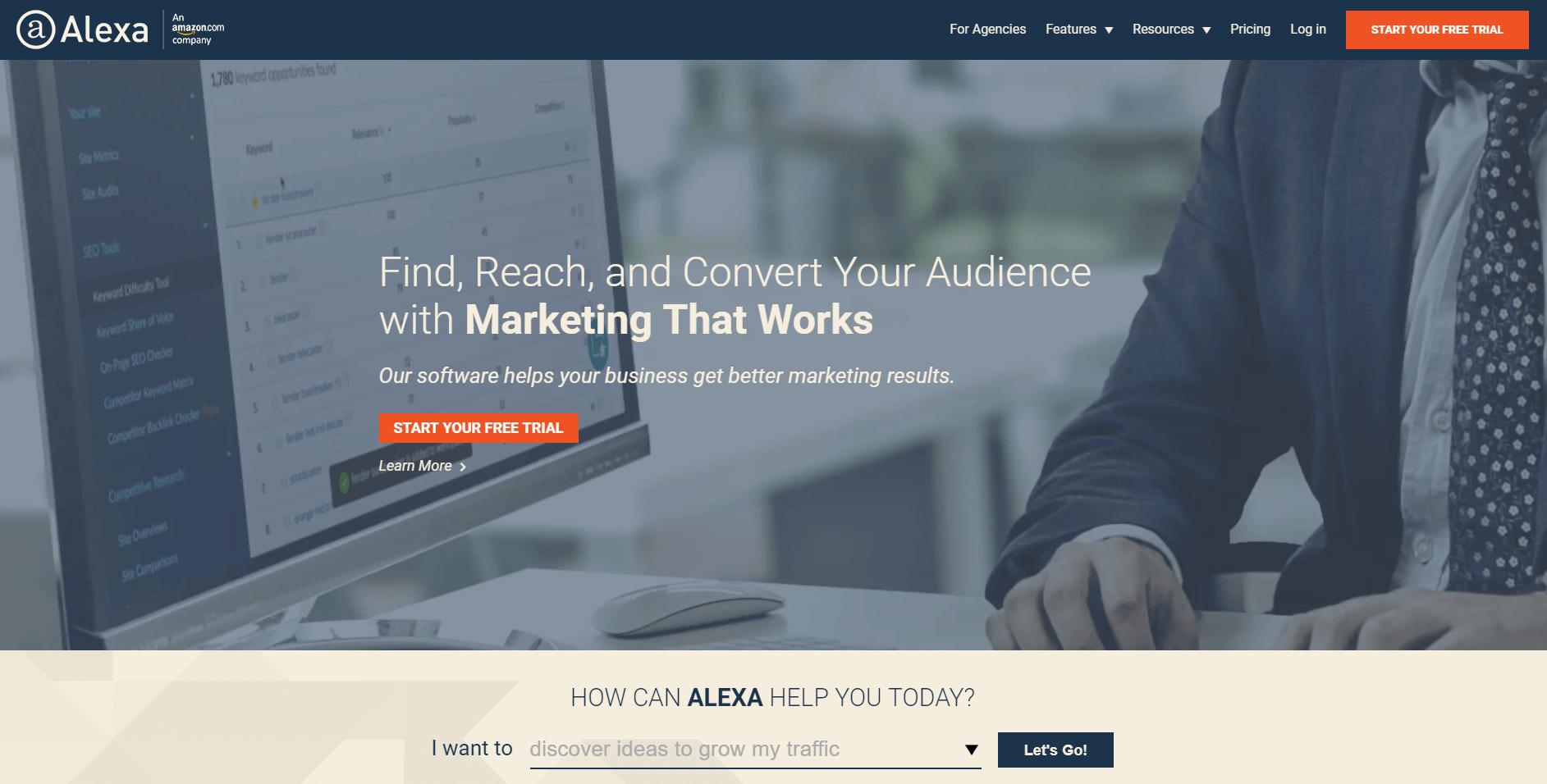 Alexa - convert audience