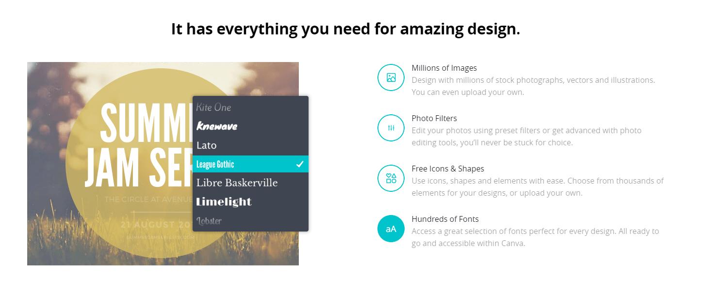 Canva - amazing design